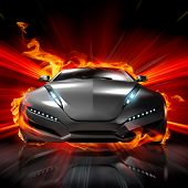 Hot car. My own car design.
