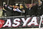 Fc Besiktas Supporters Show Their Support