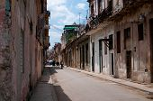 Typical street of Havana