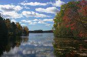 Scenic Lake Landscape