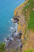 Coastline And Sea Caves