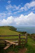 Coast Path And Stile
