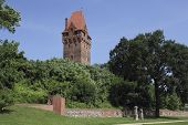 Castle Complex And The Lookout Tower In Tangermuende, Germany