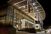 Mondavi Performing Arts Center at Night