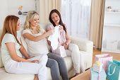 Women Having A Baby Shower