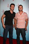 LOS ANGELES - AUG 27:  Daniel Goddard, Joshua Morrow attending the Daniel Goddard Fan Event 2011 at the Universal Sheraton Hotel on August 27, 2011 in Los Angeles, CA