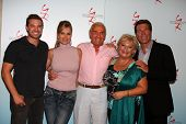 LOS ANGELES - AUG 26:  Billy Miller, Eileen Davidson, Jerry Douglas, Beth Maitland, Peter Bergman at the Y&R Fan Dinner 2011 at the Universal Sheraton Hotel on August 26, 2011 in Los Angeles, CA