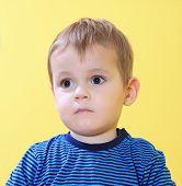 Sad little toddler
