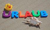 Urlaub - Engl.: holiday