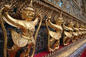image of garuda  - The Garuda at the Emerald Buddha Temple - JPG