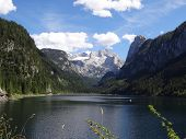 Dachstein With Lake Gosau