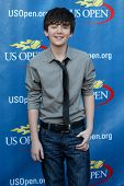 FLUSHING, NY - AUGUST 29: Greyson Chance attends the Opening Night Ceremonies for the 2011 US Open a