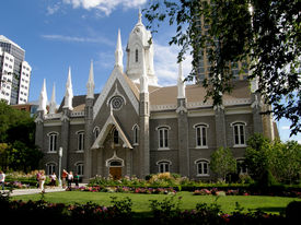 pic of tabernacle  - Temple Square Salt Lake City - JPG