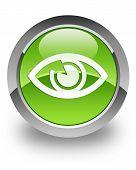 glänzende Augensymbol