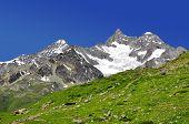 Beautiful mountain Ober Gabelhorn - Swiss alps