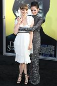 HOLLYWOOD, CA. - MAY 7: Bella Heathcote and Eva Green arrives at Warner Bros. Pictures World Premiere of 'Dark Shadows' on May 7, 2012 at Graumans Chinese Theatre in Hollywood, Ca.