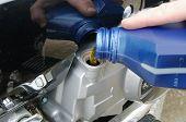 Motor Oil Poring