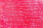 Red crayon on white paper