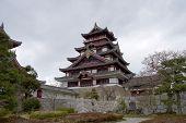 Principal sustento do Castelo de Fushimi, Japão