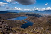 Sylvester Lakes in Kahurangi National Park, NZ