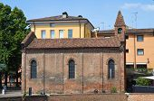 Church of St. Giuliano. Ferrara. Emilia-Romagna. Italy.