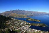 Amazing Aerial View Of Queenstown New Zealand