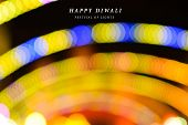 Abstract Background Of Diwali, Happy Diwali, Diwali Lighting Background, Diwali Bokeh Lights, Yellow poster