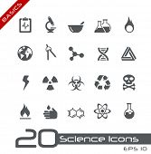 stock photo of biological hazard  - Science Icons  - JPG