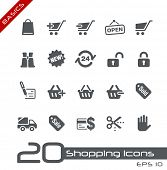 Sopping Icons // Basics
