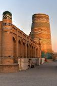 Kalta Minor Minaret - Khiva, Uzbekistan poster