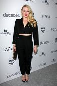 LOS ANGELES - FEB 28:  Leven Rambin arrives at the Harper's Bazaar Celebrates The Launch Of The Duke