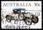 Postage Stamp Australia 1984 Australian Six 1919, Vintage Car