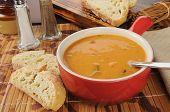 Sopa cremosa de tomate