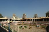Meenakshi hindu temple.
