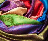Different Fabrics Closeup