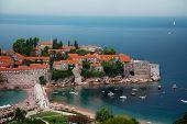 St Stefan Peninsula In Montenegro
