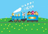 Easter Steam Train