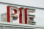 Pie Sign
