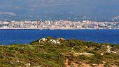 View Of Alghero, Sardinia, Italy