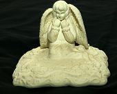 Alabaster Angel Statue