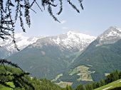 The Zillertal Alps in South Tyrol, Italy