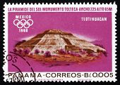 Postage Stamp Panama 1967 Indian Ruins At Teotihuacan