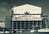 Bolshoi Theatre On Big Repair