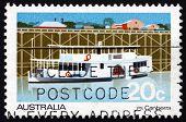 Postage Stamp Australia 1979 Passenger Steamer Canberra
