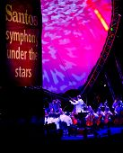 ADELAIDE - FEBRUARY 28: Adelaide Symphony Orchestra plays that the free Symphony Under the Stars fre