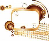 Golden Frame For Text