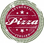 Authentic Pizza Stamp
