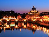 Vatican night view