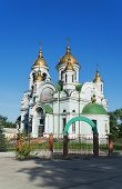 Temple In Honour  Venerable Sergius Of Radonezh