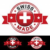 Swiss Made Badge